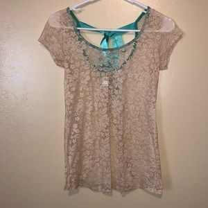 Daytrip Lace Tee